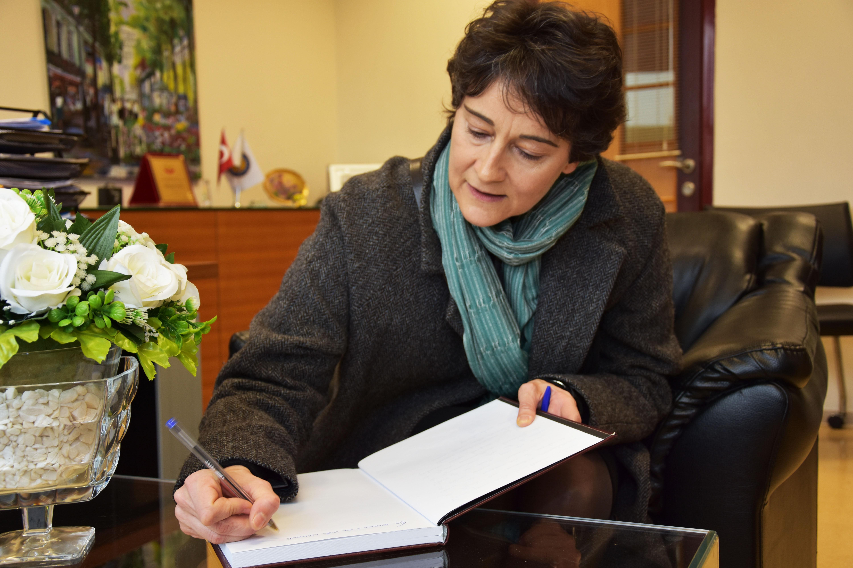 Fransızca Dili İşbirliği Ataşesi Okullarımızı Ziyaret Etti
