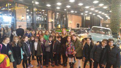 4.Sınıflarımız Rahmi Koç Müzesi'nde