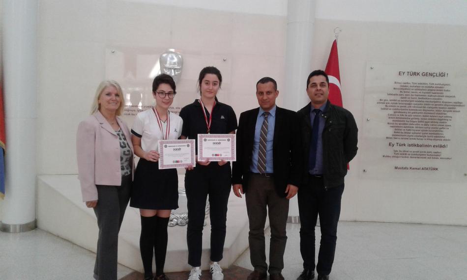 Küçük Prens Lisesi Öğrencileri Abd'de Yapılacak Intel-Isef Proje Yarışmasında Türkiye'yi Temsil Edecek